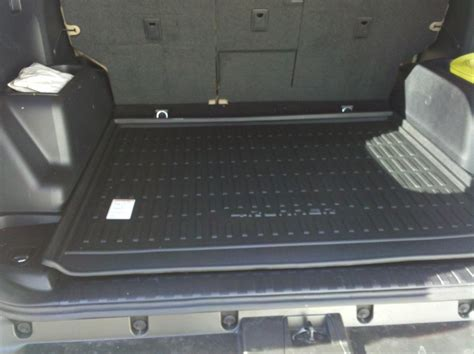 2011 toyota 4runner sliding rear cargo deck cargo tray part number needed toyota 4runner forum