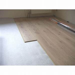 isolation acoustique sous chape ou parquet phonisol With feutrine parquet