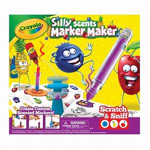 Amazon Com  Crayola Silly Scents Marker Maker  Scented