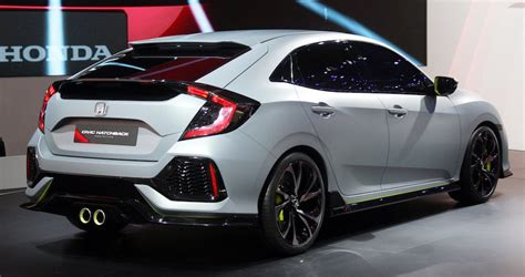 Honda Civic 2017 Hatchback, Si And Type-r Release Date And