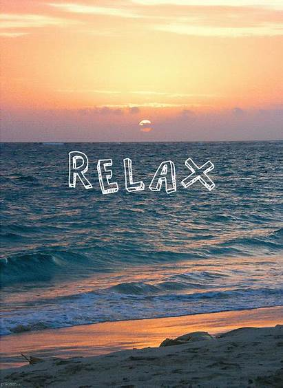 Sunset Beach Relax Ocean Beaches Quotes Quote