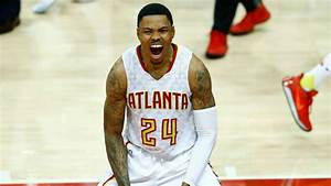 With wife by his side, Hawks' Kent Bazemore still standing ...
