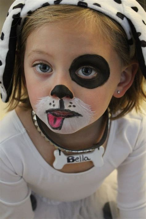 Simple Face Painting Ideas For Kids A She #DogFace