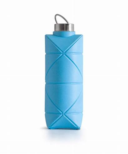 Bottle Origami Reusable Collapsible Designs Reduce Waste