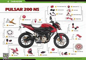 Motorcycle Spare Parts For Bajaj Pulsar 135 180 220 200ns