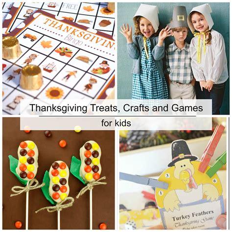 thanksgiving treats crafts  games  kids  idea room