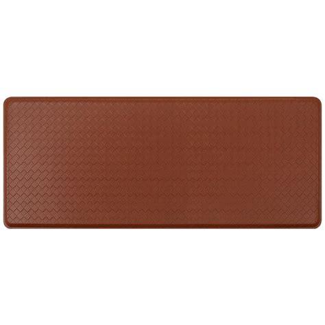 floor mats home depot hometrax designs kitchen comfort green 20 in x 48 in floor mat c01s2048gn the home depot