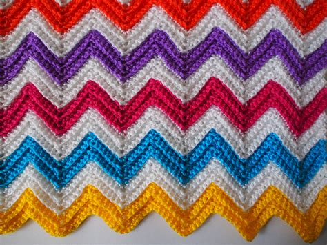 Zali Zig-zag Crochet Chevron Blanket Tutorial Fleece Blanket Instructions Braided Edge Purchase Order Process In Sap Mm Collage Blankets Horse Saddle Sizes Ways To Make A Tie Can Baby Sleep With At 11 Months Knitted Crochet Channeled Microplush Electric Sunbeam