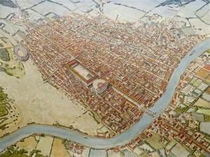 Illustration de Jean Claude Golvin représentant la cité ...
