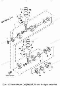 Yamaha Waverunner 2000 Oem Parts Diagram For Crankshaft