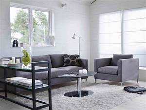 Living room awesome decorating ideas for grey living for Grey and white living room furniture