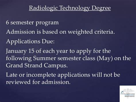 radiologic technology steps session