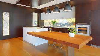 island bench kitchen designs 15 beautiful kitchen island with table attached home design lover