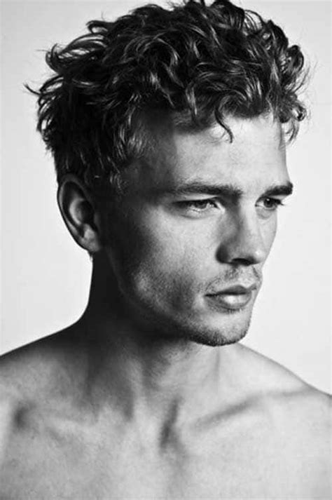 Mens curly hairstyles are very trendy. Curly Hairstyles for Men, Ideas of Mens Wavy Haircuts (2018)