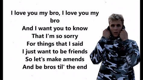 You Bid I You Big Bro Jake Paul Ft Logan Paul Lyrics