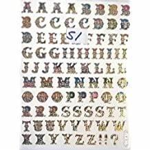Buchstaben Zum Aufkleben : suchergebnis auf f r deko buchstaben zum aufkleben ~ Watch28wear.com Haus und Dekorationen