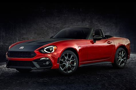 Fiat Spider by 2017 Fiat 124 Spider Priced From 25 990 Motor Trend