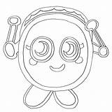 Moshi Monsters Monster Coloring Printable Teller Fortune Colouring Moshlings Getcolorings Getcoloringpages Bestcoloringpagesforkids sketch template