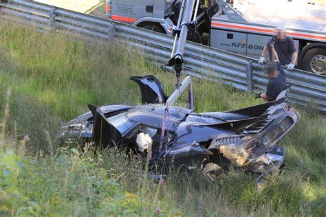 koenigsegg fire update koenigsegg one 1 destroyed in nurburgring crash