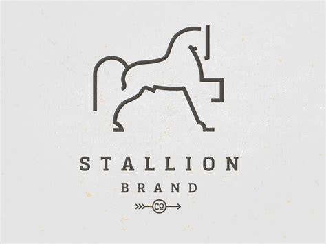 horse stallion brand rider