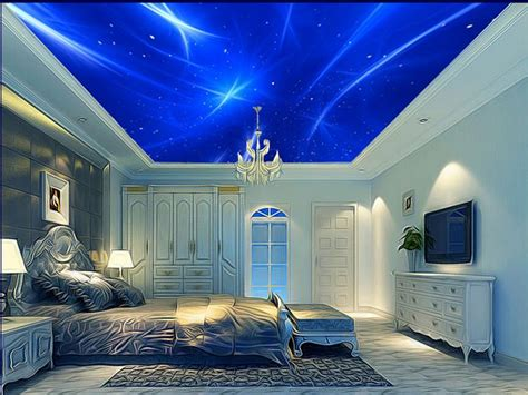 3d Hd Wallpapers Bedroom by Hd Ceiling Murals Wallpaper Boys Bedroom Wallpaper Custom
