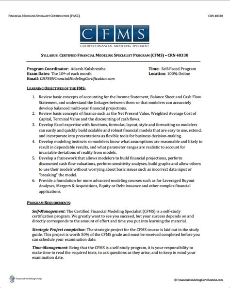 financial modelling resume resume ideas