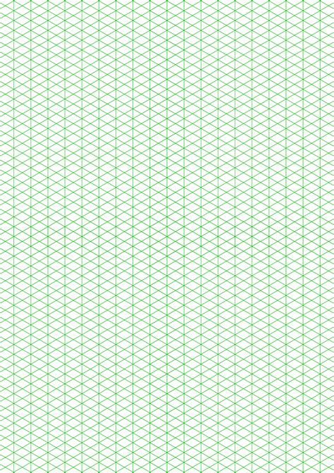 isometric   figures graph paper