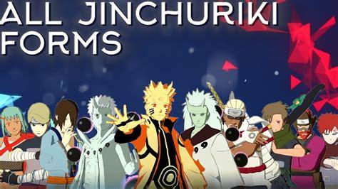 all jinchuriki forms moveset combo awakening showcase
