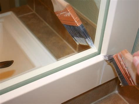 How To Make A Bathroom Mirror Frame by How To Frame A Mirror Hgtv