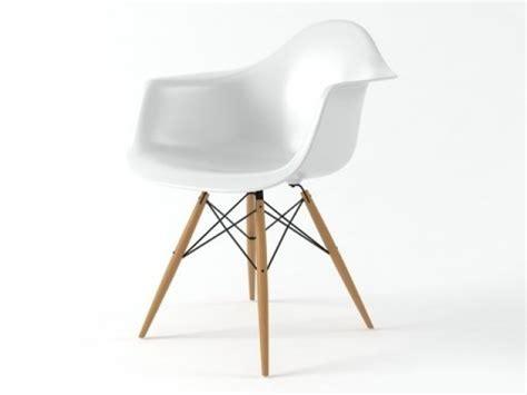 Eames Plastic Armchair DAW 3d model   Vitra