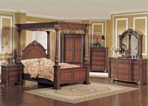 king poster bedroom sets king poster canopy bed marble bedroom furniture set 5pc ebay 15751 | 6