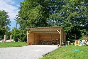 Abri De Jardin Ouvert : garages soci t trefibois ~ Premium-room.com Idées de Décoration