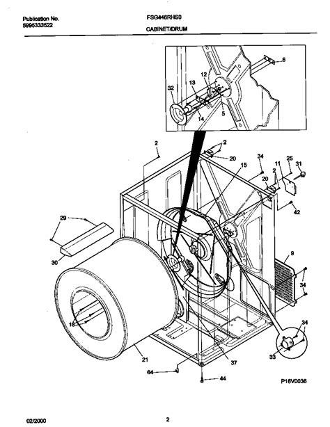 frigidaire dryer frigidaire dryer diagram
