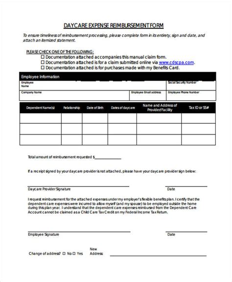 daycare receipt template printable receipt forms 41 free documents in word pdf