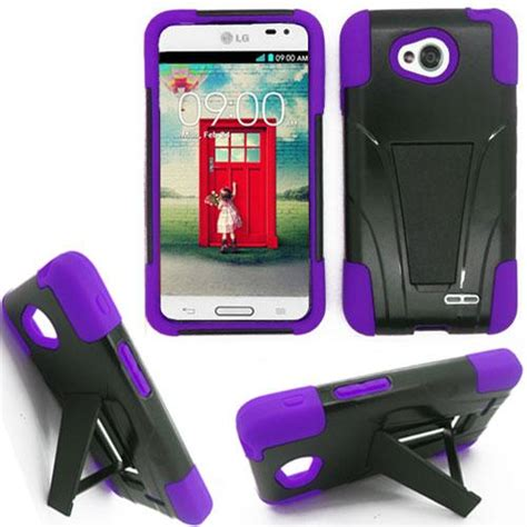 lg cell phone cases phone for lg optimus l90 hybrid rugged cover