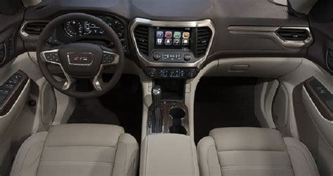 gmc acadia denali interior    newest