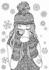 Coloring Pages Winter Printable Activity Themed Puzzle Tip 30seconds Mom Printables sketch template