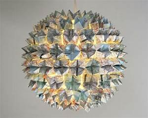 Maison Du Monde Origami : 1001 projets diy super cool pour fabriquer un luminaire origami ~ Melissatoandfro.com Idées de Décoration