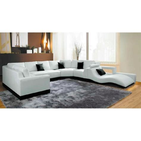 canape d angle panoramique cuir canap 233 d angle panoramique cuir blanc m 233 ridienne achat