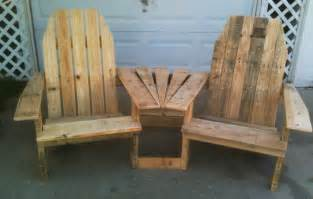how to make adirondack chairs out of pallets plans free