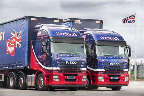 Stormont Delivers First Iveco Heavy Trucks Into Wreford's