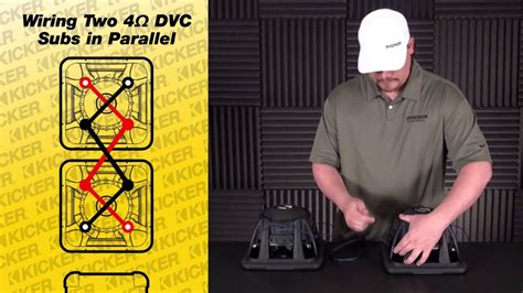 Subwoofer Wiring Two Ohm Dvc Subs Parallel Youtube