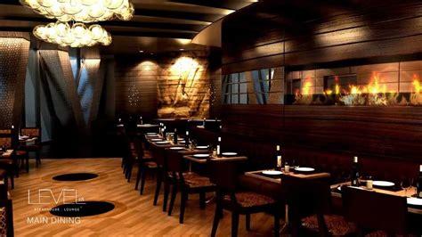 cuisine beige et marron qatar restaurant designs la vue brasserie and level 28