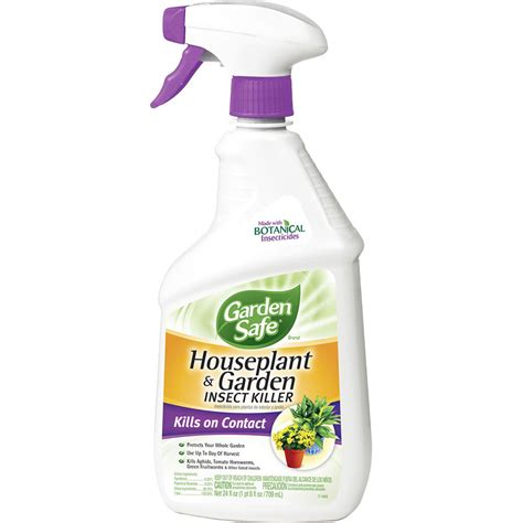 insect spray for plants shop garden safe 24 oz houseplant and garden insect killer spray liquid at lowes com