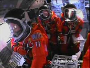 NASA Space Shuttle STS-121 Launch Cockpit View - YouTube
