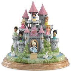 SET of 13 Precious Moments Disney Birthday Parade Princess