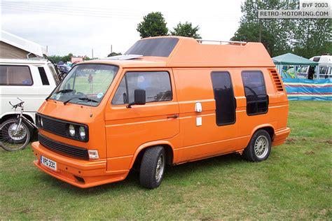 orange vw t3 t25 vpg33x bvf 2003 retro motoring