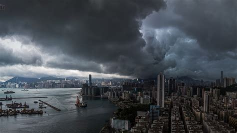 readers pictures dark storm clouds gather  hong kong south china morning post