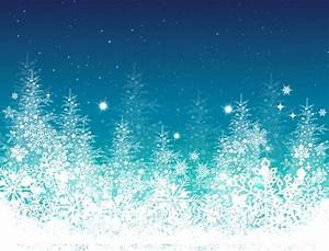 Blue, Winter, Christmas, Tree Holiday Ppt Background HQ ...
