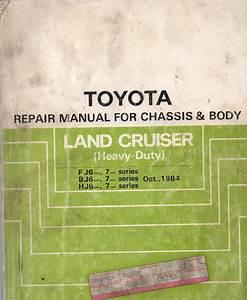 Toyota Landcruiser Fj62 Fj70 Fj73 Fj75 Bj Hj60 Hj75